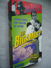 THE BIGAMIST IDA LUPINO Joan Fontaine US TAPE NTSC VHS SMALL BOX