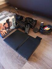 Playstation 2 PS2 Konsole Slim schwarz + Original Controller und Spiele