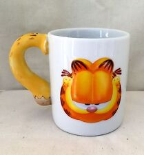Vintage FAT TAIL CAT GARFIELD Coffee Mug PAWS