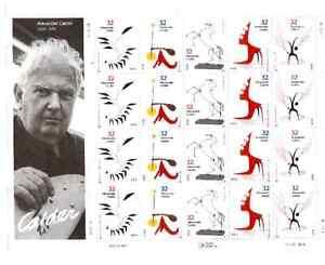 Scott  #3198/3202...32 Cent...Alexander Calder... Sheet of  20