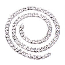 Classic Mens Childrens Figaro Chain Stainless Steel Wheat Cuban Link Chains