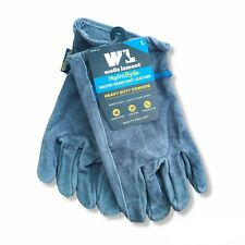 NWT NEW Wells Lamont Mens Large L HydraHyde Leather Multi-Purpose Work Gloves
