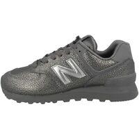 New Balance WL 574 SOK Schuhe Women Sneaker Turnschuh castlerock silver WL574SOK