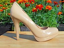 Madden Girl Pumps Size 10M Nude Beige Heels Shoes