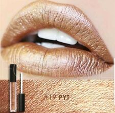 Focallure glimmer - metallic- Matte Lipstick - #19 Pyt - Tan Gold