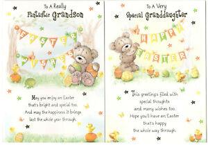 Easter Card For Daughter, Son, Granddaughter, Grandson, Great-Granddaughter/Son