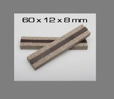 60x12x8mm VFG Weapon Care Magnetic Felt Clamps for Vises