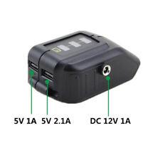 Dewalt DCB091 USB Power Source Replace Adapter DC 12V Output Heated Jacket Port