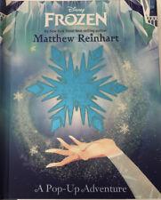 Frozen: A Pop-Up Adventure by Matthew Reinhart (2016 Hardcover) NEW/Sealed