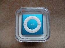 Apple iPod shuffle 2GB MP3 Player 4th Generation BLUE / AQUA - MD775LL/A