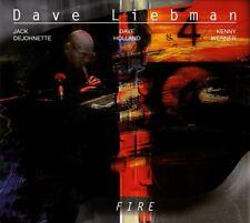DAVE LIEBMAN - FIRE (2LP 180G GATEFOLD SLEEVE)  2 VINYL LP NEU