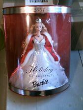 barbie celebration holiday 2001 Mattel neuve mais défaut boite voir photos