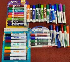 Huge Dry Erase Marker Lot 3 Sets Sealed 42 Total Expo Sanford Pen Gear