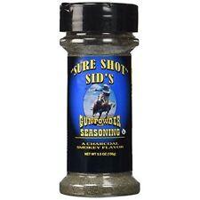 Sure Shot Sids Gunpowder BBQ Seasoning (5.5oz (156g)) New