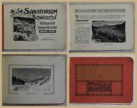 Orig. Werbeprospekt Sanatorium Schweizerhof um 1912 Ortskunde Landeskunde xy