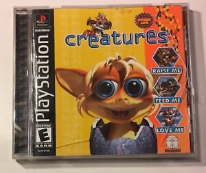 Creatures Sony Playstation 1 PS1 2002 Video Game Disc Manual Case