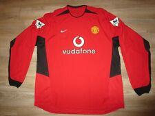 David Beckham 2004 Manchester United Soccer Football nike Jersey XXL 2XL 2X mens