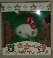 TOKIDOKI x Hello Kitty Sandy plush doll Sanrio 2008 Kawaii Cute Very Rare