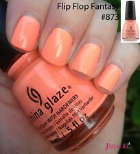 China Glaze Nail Polish - Flip Flop Fantasy - 14ml - Poolside Collection