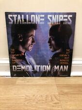 Demolition Man Laserdisc Rare