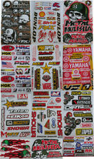 Motocross Racing Decal Sticker Kit Set 12 Sheets #HD-602