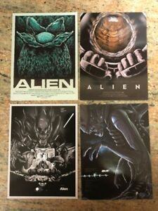 Amazing collection of (i4) NEW mini posters from the film ALIEN - Free Shipping!