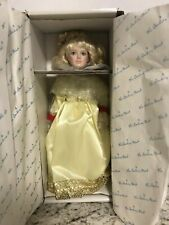 "Danbury Mint -The Story Book Doll Collection ""Cinderella"" 11"" Doll - New"