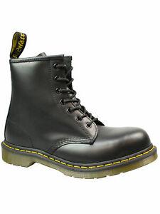 Dr. Martens Doc 7-loch Stiefel / Boot / Stahlkappe 1920 10108001 Schwarz  5126