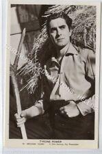 (Ld1006-462) RP, Actors Tyrone Power, Unused VG-EX