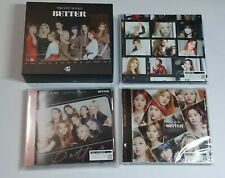 TWICE BETTER Type A+ONCE+REGULAR+PROMO BOX Set JAPAN CD+DVD+Photo Card