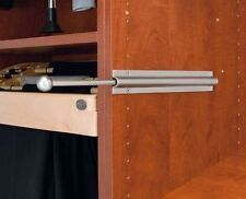 "Rev-A-Shelf Cvl-12-Sn 12"" Valet Rod Standard For Closet, Satin Nickel"