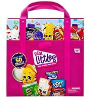 Shopkins Real Littles Collectors Case Ages 5+ Toy Doll Play House Supermarket