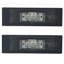 2x ECLAIRAGE DE PLAQUE TYPE ORIGINE LED BMW SERIE 1 E81 E87 DE 01/2007 A 01/2013