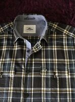 Super Cool 100% Genuine Mens Lacoste Slim Fit Check Shirt In Size 42, Large