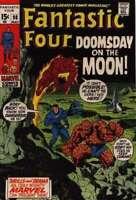 Fantastic Four (1961 series) #98 in VG minus condition. Marvel comics [*qf]
