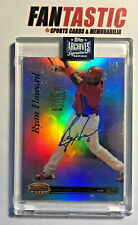 1/1 Ryan Howard Auto! 2020 Topps Archives Signature Retired PHILLIES 2007 #24