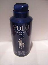 POLO BLUE Body Spray by Ralph Lauren Deodorant 4.5 oz