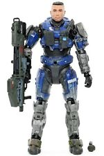 Halo Reach Series 5 SPARTAN CARTER NOBLE ONE Unhelmeted Action Figure McFarlane