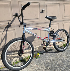Vintage Early Mid School Old BMX Haro Track & Trail TR 2.1 Chrome Bike GT Dyno