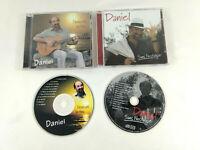 Lot 2 CD  Daniel de Claret 34  L eau et le feu  et  Sans nostalgie  Envoi suivi