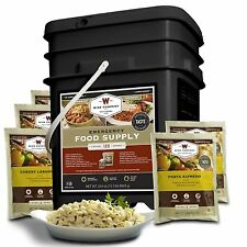 60 Serving Entrées by Wise Food Company  MRE Grab and Go Survival