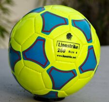 LIONSTRIKE Lightweight Leather Football size 4 YELLOW for children 7-13 years