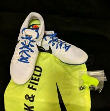 New Nike Racing Rival M Track Shoes  Size 11 With Spikes and Bag