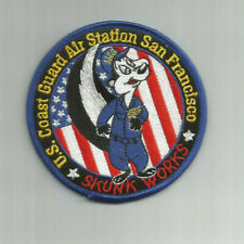 Uscg United States Coast Guard patch San Francisco Skunk Works 3-5/8 Dia #Cc