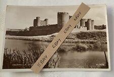 Postcard Caerphilly Castle - Valentine & Sons