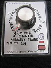 OMRON subminy TIMER STP-NH 240vac 0-60 minuti - 8 Pin base - 3a