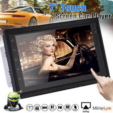 "7"" Android 6.0 Double 2Din Car Stereo Radio MP5 PLAYER GPS Wifi 3G NAV OBD AUX"