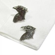 Quality Cufflinks Handmade in England Silver Pewter Pheasants Head High