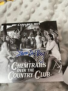 Lana Del Rey Chemtrails Over The Country Club CD + Signed Art Card *IN HAND*