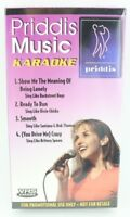Brand New SEALED Priddis Music Karaoke VHS Tape 2001